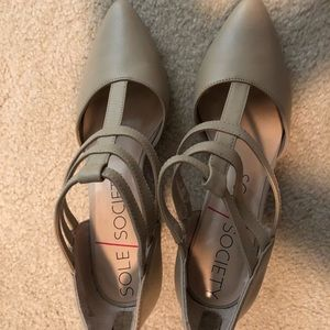 Sole society strappy heels